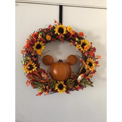 Image fall wreath