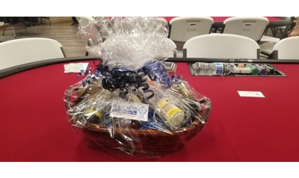 Big image letherby s gift basket with 100 dollar and other