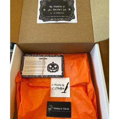 Murder Myster Game Box (Halloween Theme) - Murders by Chelsea
