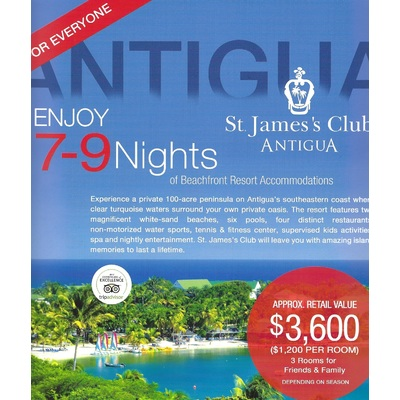 St James's Club Beachfront Resort Antigua