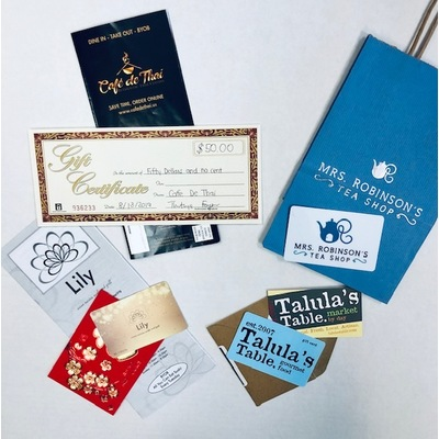 Kennett Square Dining Gift Cards