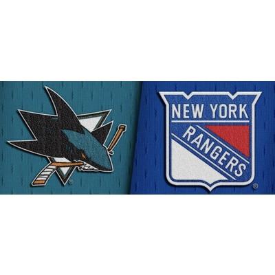 2 Tickets -  San Jose  Sharks vs NY Rangers Dec 12  @ 7:30pm