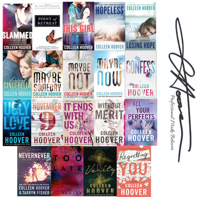 Complete Collection of Colleen Hoover's Signed Paperbacks
