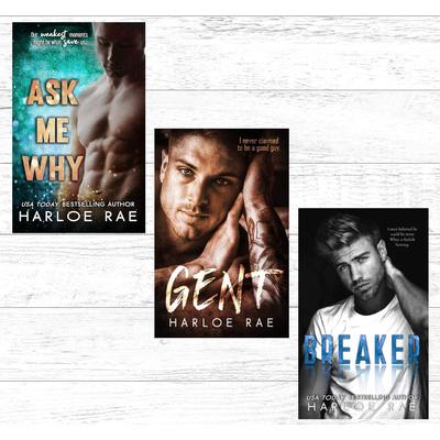 3 signed books by Harloe Rae