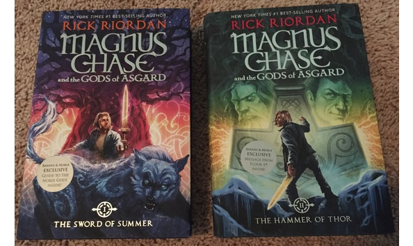 Autographed Magnus Chase The Gods Of Asgard Sword Summer Hammer Thor