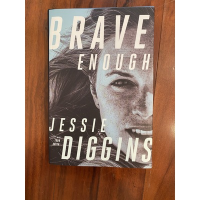 Image signed brave enough book
