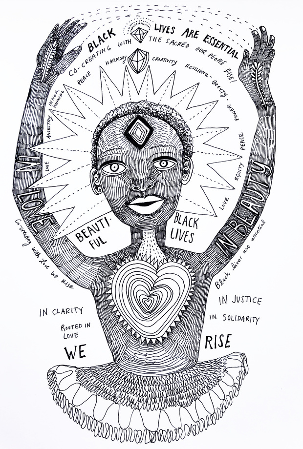 Black lives are essential by palo mah