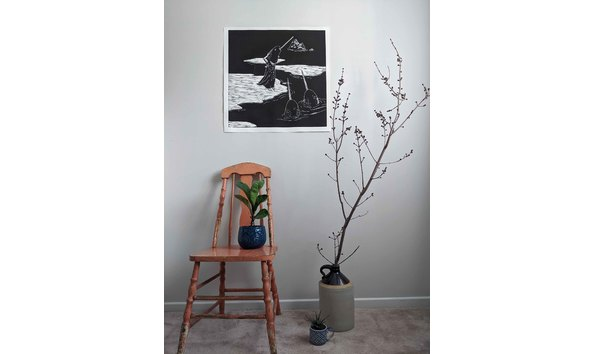 Big image print with chair far view  for web
