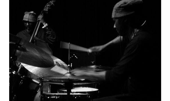 Big image william parker and hamid drake by julia dratel
