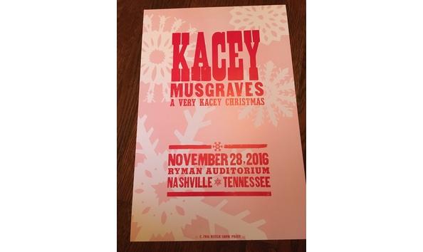 hatch show print kasey musgraves