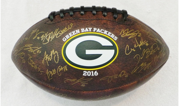 cheaper f2172 29f50 Green Bay Packer Autographed Football