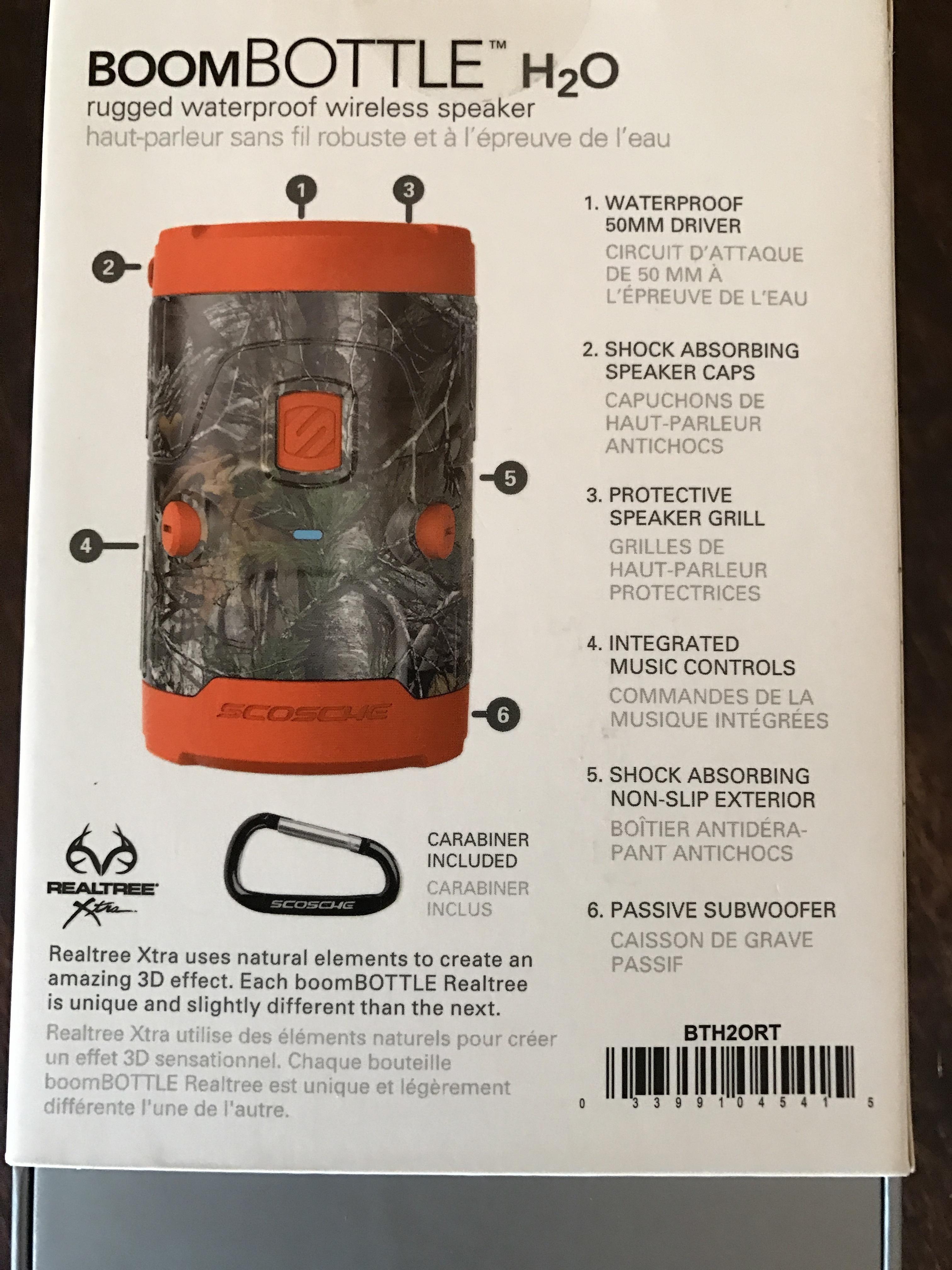 Boom Bottle Waterproof Outdoor Speakers