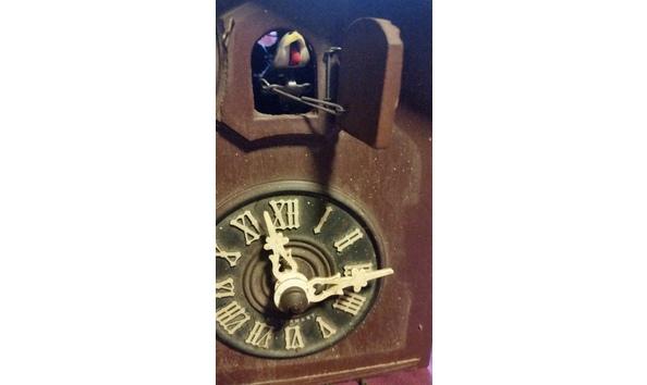 Vintage Black Forest Herbert Herr Cuckoo Clock  Parts or Project