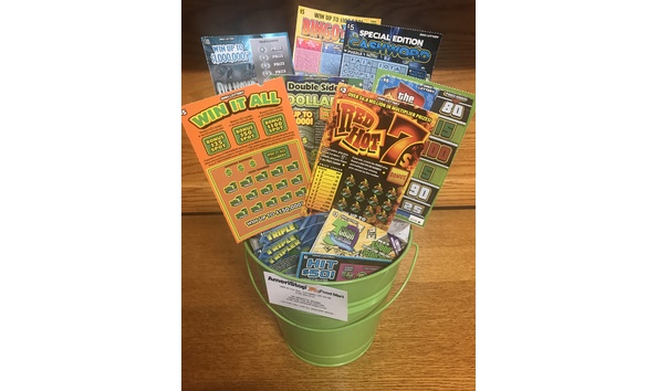 Raffle Lottery Ticket Basket 2