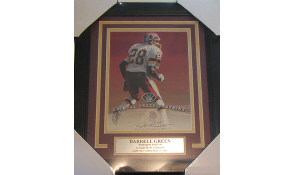 Darrell Green Washington Redskins Framed Autographed Photo 3bf69a1f6