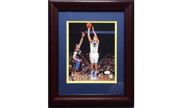 c9576b1d7 Klay Thompson (Golden State Warriors) Autographed Framed Display!