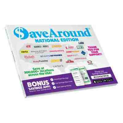 $aveAround 2019 National Coupon Book