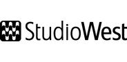 Sponsor logo studiowest logo black