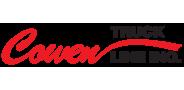 Sponsor logo cowen truck line logo