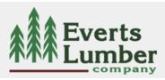 Sponsor logo everts lumber logo