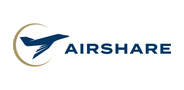 Sponsor logo airshare auction
