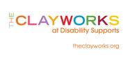 Sponsor logo clayworks auction
