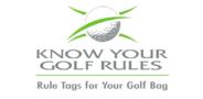 Sponsor logo know your golf rules logo