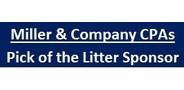Sponsor logo miller cocpas linked name tag