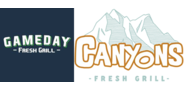 Sponsor logo gameday canyons