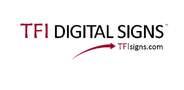 Sponsor logo tfi digital signs logo