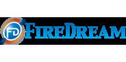 Sponsor logo firedream logo no reflection