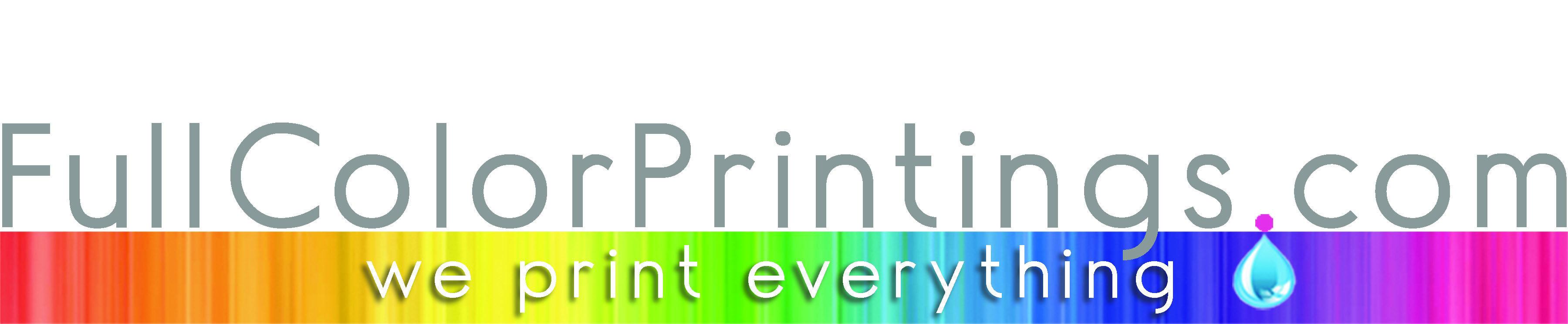 Fullcolorprintings logo  vector