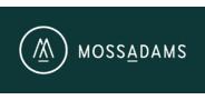 Sponsor logo mossadams logo logotype reverseongreen