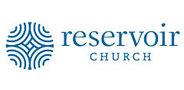 Sponsor logo reservoir blue logomark name horizontal