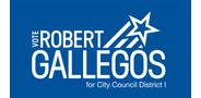 Sponsor logo gallegos reelect logo