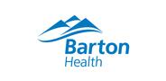 Sponsor logo barton health 1clr blue