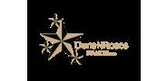 Sponsor logo dunsnroses tan stroke