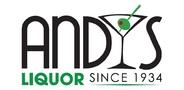 Sponsor logo andys liquor logo