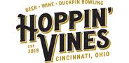 Sponsor logo hoppin  vines logo black gold