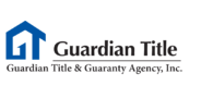 Sponsor logo guardian title logo with tagline