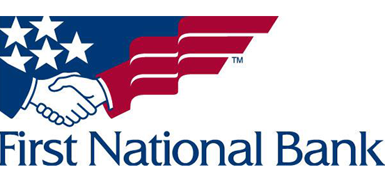 First national bank logo 553x260
