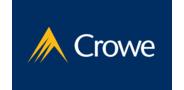 Sponsor logo crowe logo social